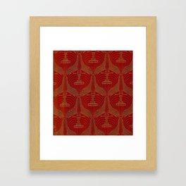 """Koloman (Kolo) Moser """"Poppyheads"""" Framed Art Print"""