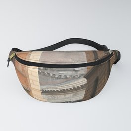 Street View of the Pantheon of Rome Fanny Pack