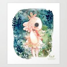 Bunny Princess Art Print