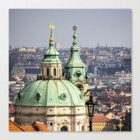 prague Canvas Prints featuring Prague by Veronika