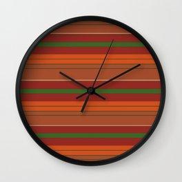 Sylvan Sunset Wall Clock