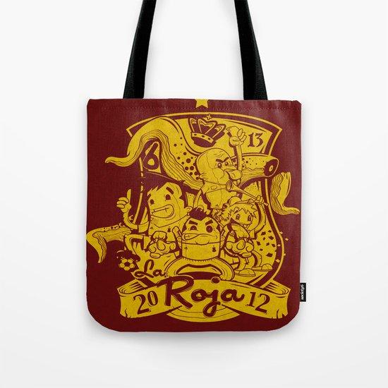 La Roja Tote Bag