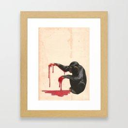 The Mess Framed Art Print