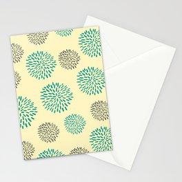 Pastel Yellow Burst Stationery Cards