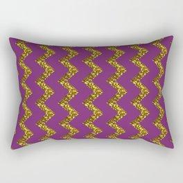 GLITTER CHEVRON Rectangular Pillow