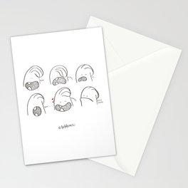 Ba be bi bo bu Stationery Cards