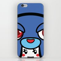 pagan iPhone & iPod Skins featuring Pagan Blue by Pagan Holladay