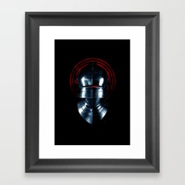 The Knight Framed Art Print