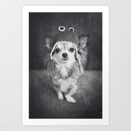 Lola as Frog Art Print
