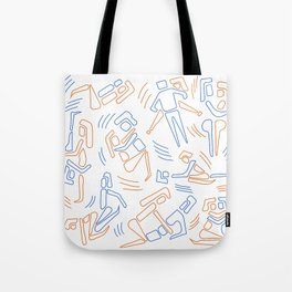 Doodly sexy kamasutra Tote Bag