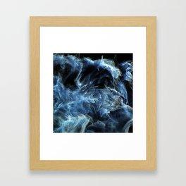 Fluctuation Framed Art Print