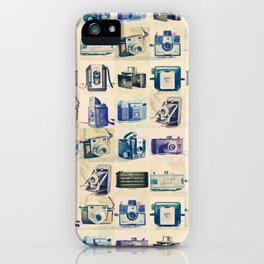 Vintage Camera Collection iPhone Case