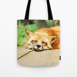 Cutie Foxy Nappy Tote Bag