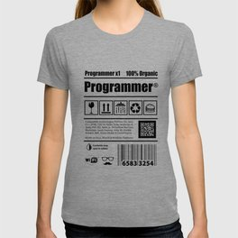 Coder programmers caffeine developers Gift T-shirt