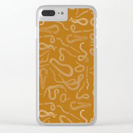 Scorched Earth(worms) 2 Clear iPhone Case