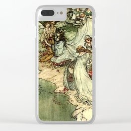 """Titania"" by Arthur Rackham From Shakespeare Clear iPhone Case"