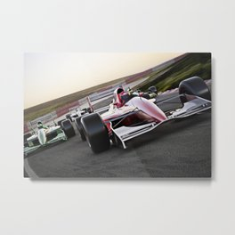 Leading the pack Metal Print