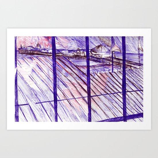 marine parade,  Brighton Art Print