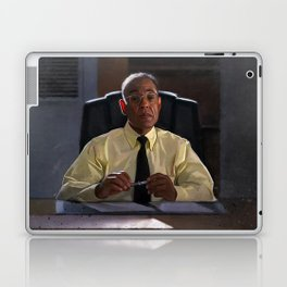 Gus Fring In The Office Los Pollos Hermanos In Better Call Saul Laptop & iPad Skin