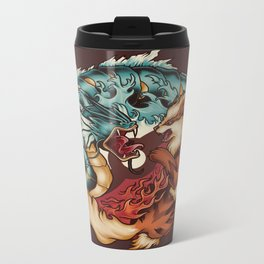 The Tiger and the Dragon Metal Travel Mug