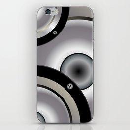 Speaker Music Background iPhone Skin