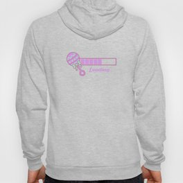 Baby Is Loading Girl Pregnancy Announcement Gift Hoody