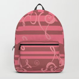 pink sass Backpack