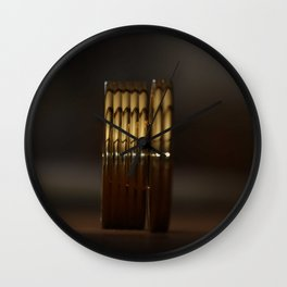 Golden pleasure Wall Clock