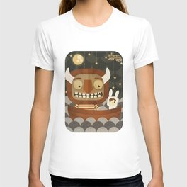Where the wild things are fan art T-shirt