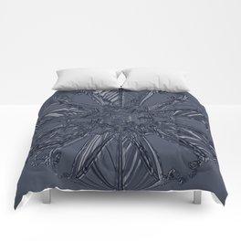 Snow Marries Stone Comforters