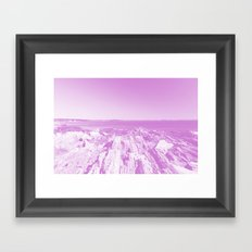 Vanishing Framed Art Print