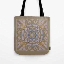 Gender Equality Mandala - Taupe Olive Tote Bag