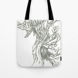 I grew this so you would visit. Tote Bag