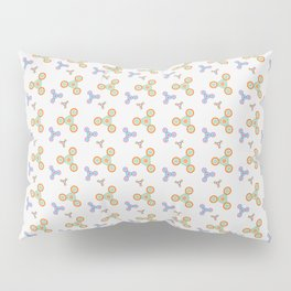 Fidget Spinner Seamless Pattern Pillow Sham