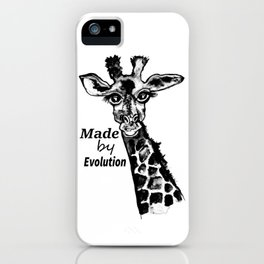 Made by evolution iPhone Case