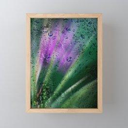 Digitalart : Purple silence Framed Mini Art Print
