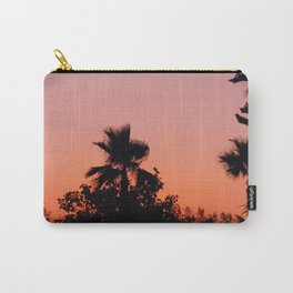 Palm Trees on Purple Carry-All Pouch