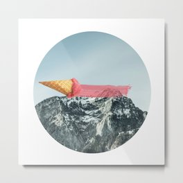 On the top Metal Print