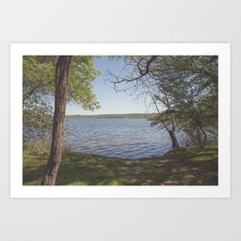 Inks Lake View Art Print