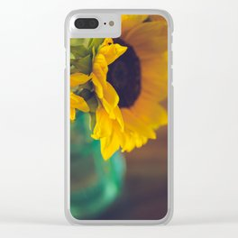Summer's End Clear iPhone Case