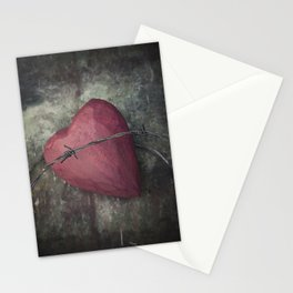 Trapped Heart III Stationery Cards