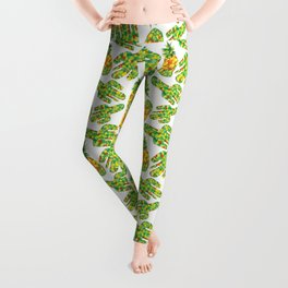 Cactus & Pineapple Leggings