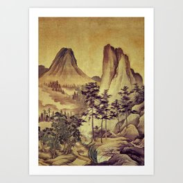 12000 steps - the Pilgrimage Art Print