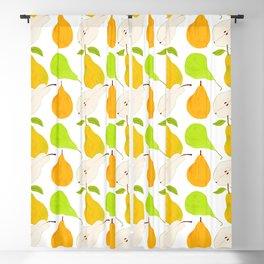 Pear Harvest Blackout Curtain