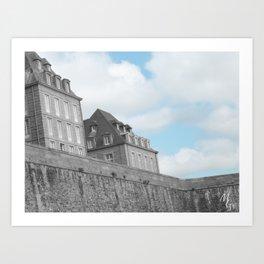 Saint-Malo Art Print