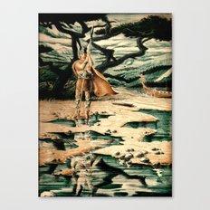 Viking Man Canvas Print