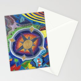 Bohemian - Compass (2020) Stationery Cards