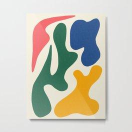 Abstract Shapes # 6 Metal Print
