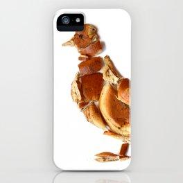 Pigeon Bagel iPhone Case