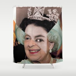 Queen Elizabeth II Shower Curtain
